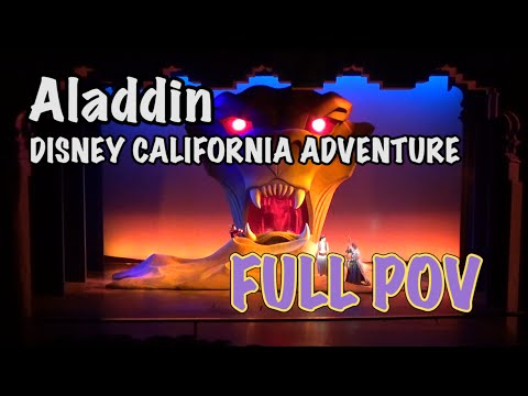 Aladdin: A Musical Spectacular - Disney California Adventure - Full HD Show
