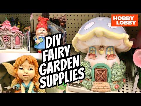 HOBBY LOBBY Shop With Me DIY Fairy Garden Supplies