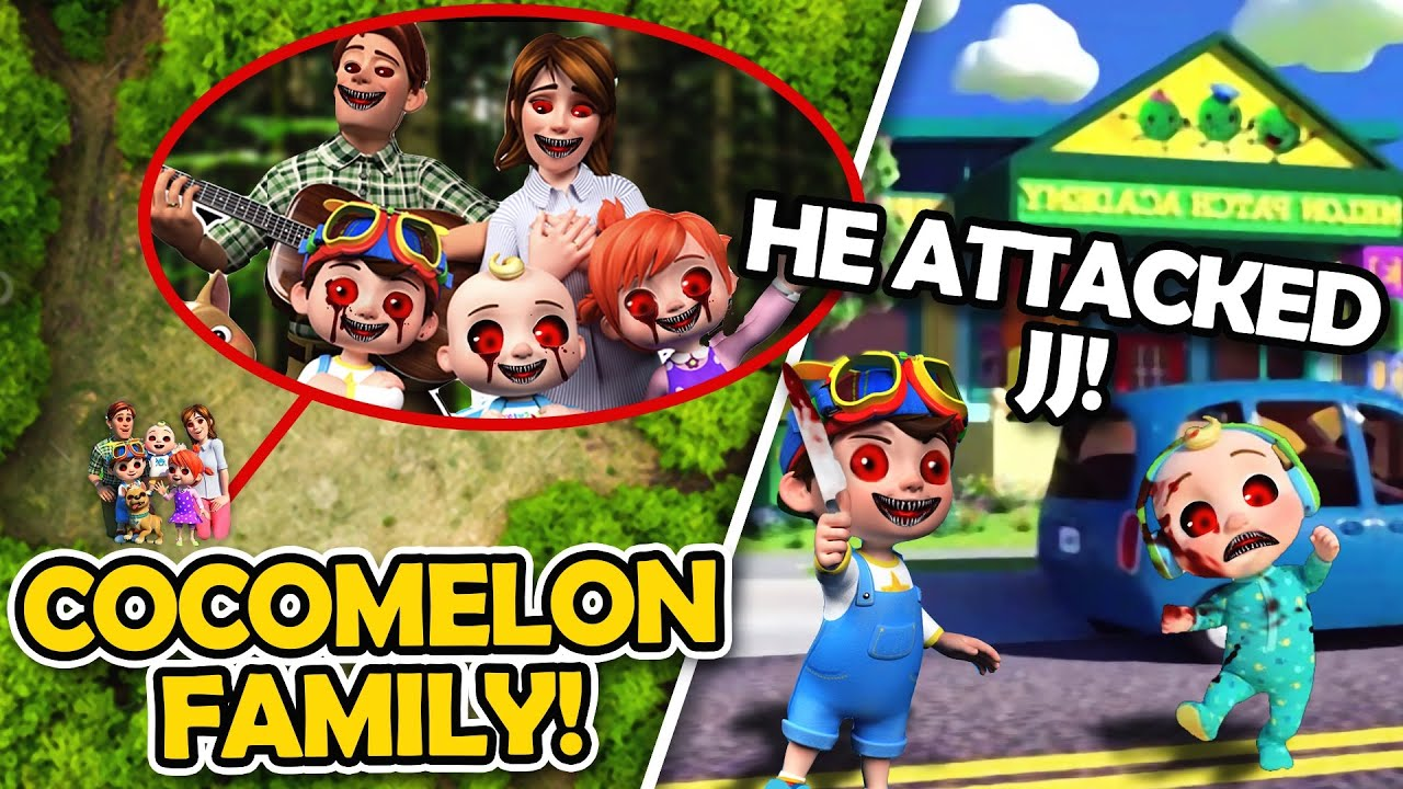 DRONE CATCHES THE CREEPY COCOMELON FAMILY IN REAL LIFE!! (CREEPY JJ ATTACKED TOMTOM)