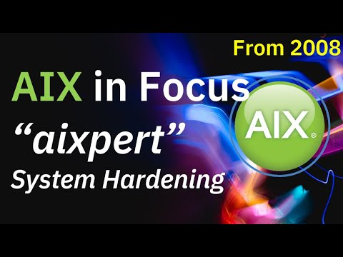 AIX 6 aixpert for System Hardening the easy way