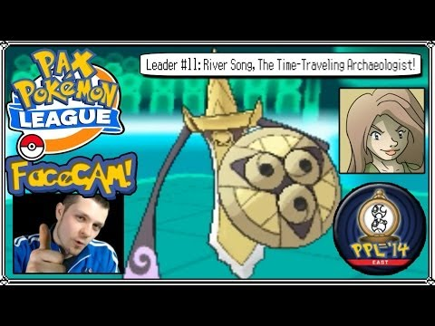 PAX Pokemon League 2014 - Leader #11: River Song, The Time-Traveling Archaeologist! [Time Badge]