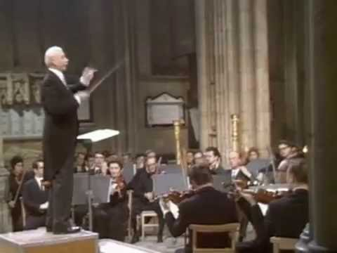 Sir Adrian Boult conducts Sir Edward Elgar
