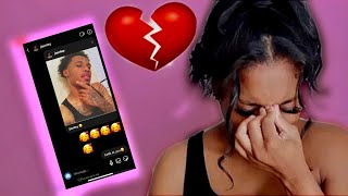 CATFISHING My Boyfriend To See If He CHEATS 💔😭** I CANT STOP CRYING**