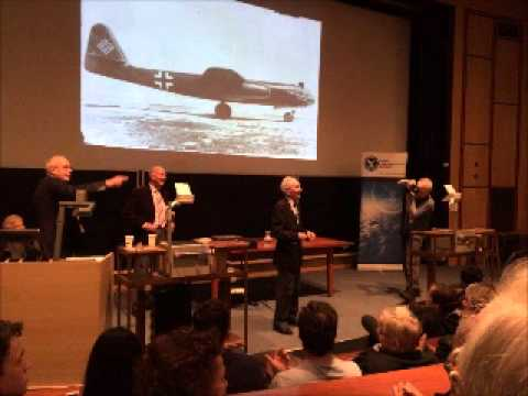 Captain Eric Brown lecture in Cambridge