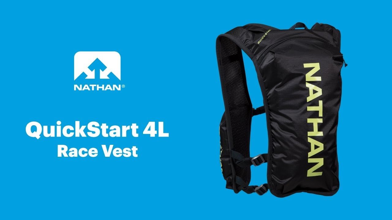 66bcd5e9c48 NATHAN: QuickStart 4L Minimalist Race Vest - YouTube