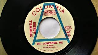 Watch Stonewall Jackson Oh Lonesome Me video