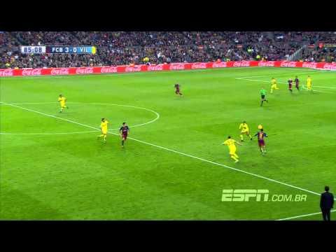 Neymar Amazing goal vs Villarreal - Barça 3x0 HD