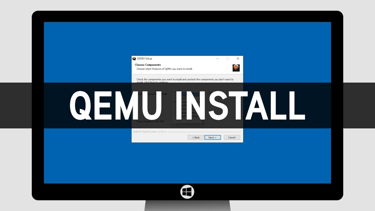 How To Install QEMU on Windows - YouTube