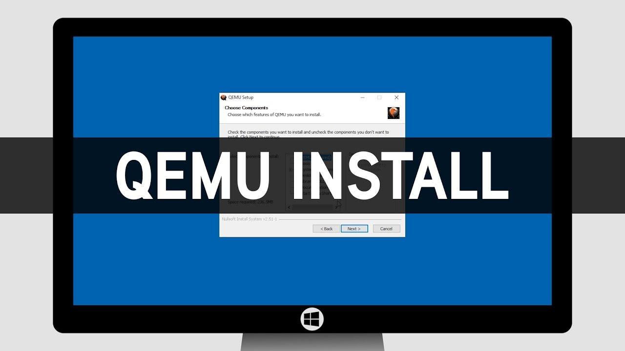 How To Install QEMU on Windows - YouTube
