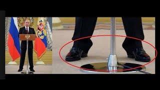 155 сантиметров Путина и его чудесные сапоги-пынеходы.