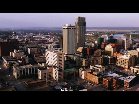Omaha Nebraska in 4K by Drone // September 2019