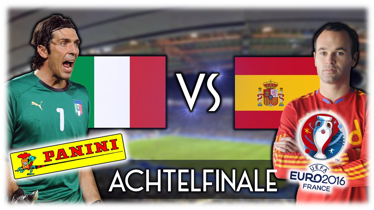 Achtelfinale Italien Spanien