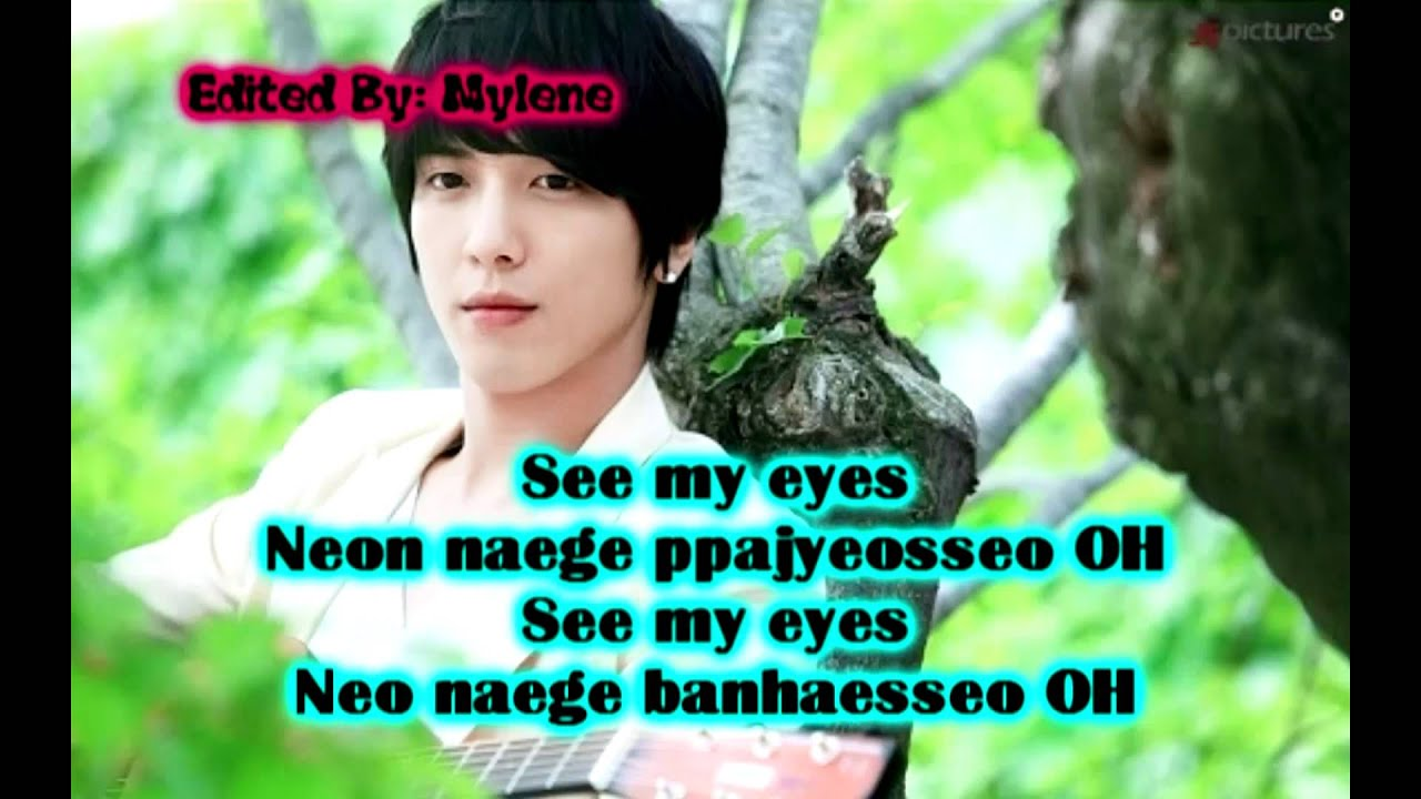 jung yong hwa you ve fallen for me heartstrings ost lyrics youtube