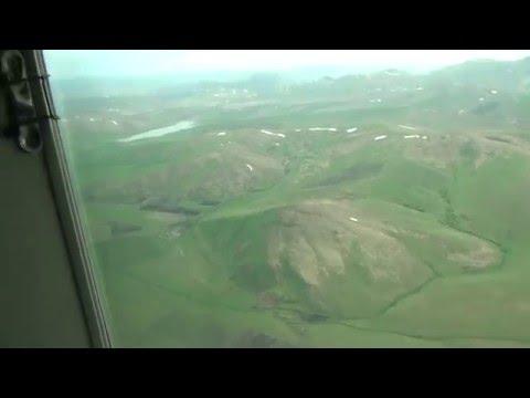 Посадка в Горно-Алтайске. Cessna Grand Caravan 208B