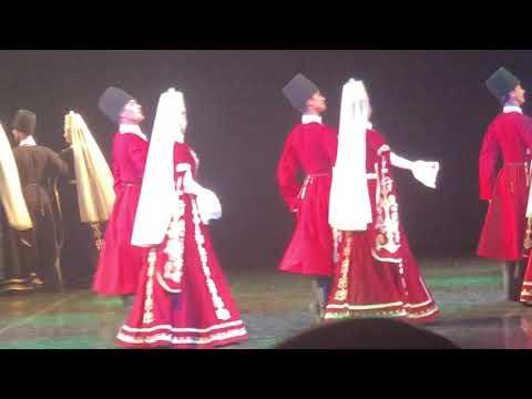 «Адыгские уджи». «Нальмэс». Концерт в Краснодаре 25.11.2018 г.