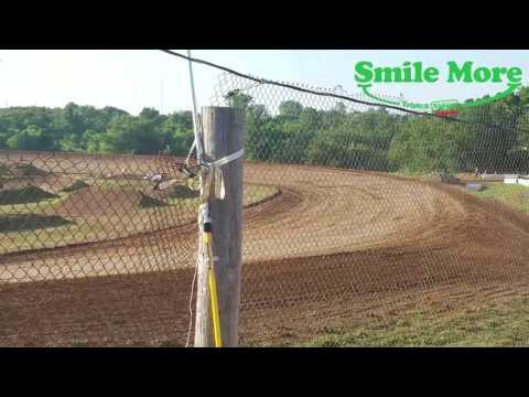 Midwest Mods Heats 1-2-3 Springfield Raceway 6 10 2017