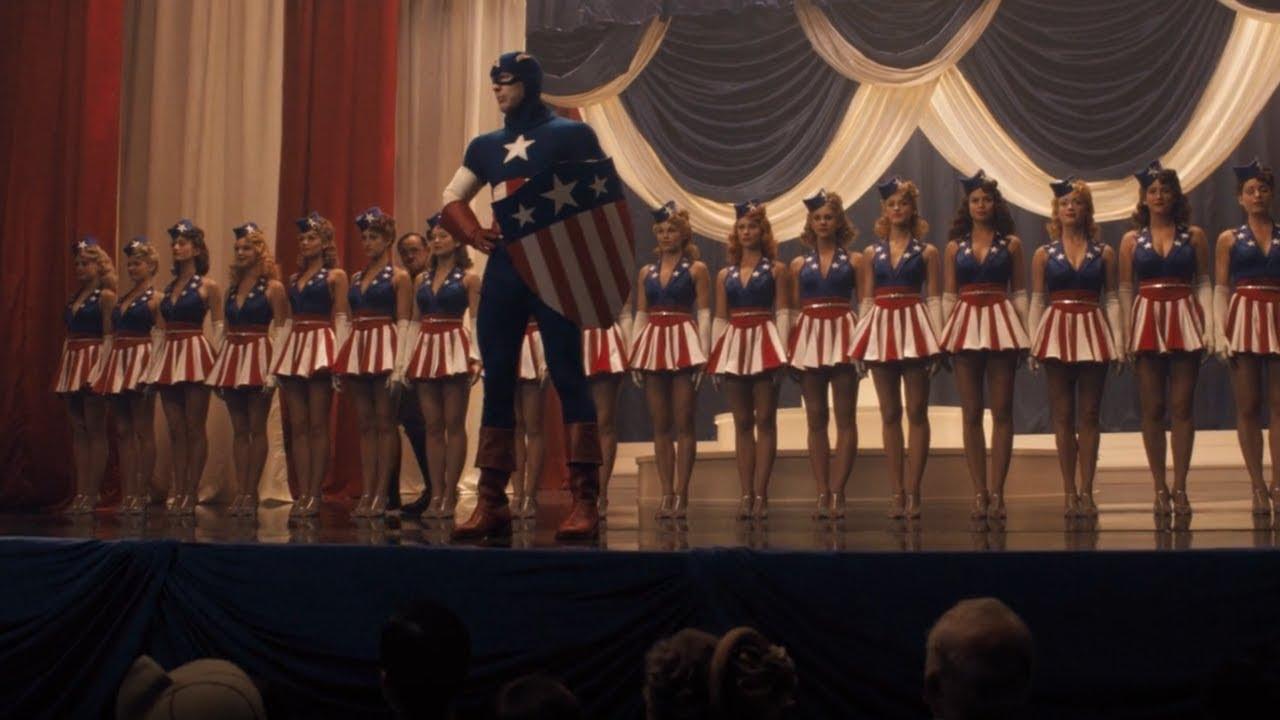 Star Spangled Man 4K Scene - Captain America: The First Avenger ...