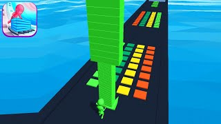 STACK COLORS! game MĄX SCORE 😱🌈💜 Gameplay All Levels Walkthrough iOS, Android New Game Full ProLevel