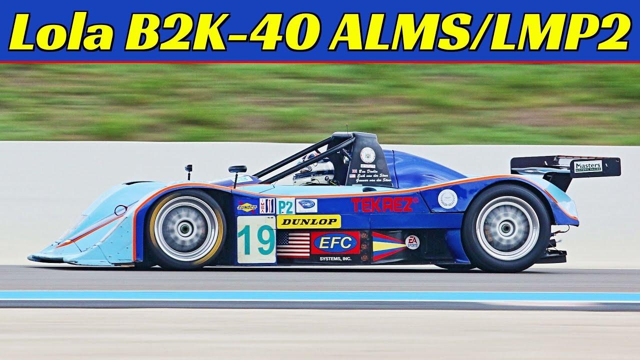 Lola B2K/40S ALMS/LMP2 Prototype (#HU05), AER Nissan 3-Litre V6 Engine, Endurance Racing Legends