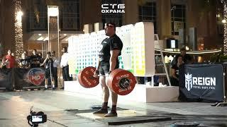 Mikhail Shivlyakov (Rus) / Deadlift 440 kg / WUS/ Dubai