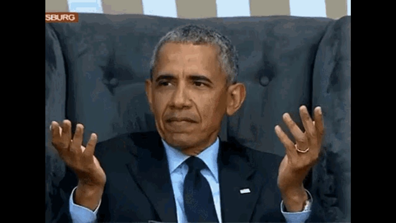 Image result for obama confused gif