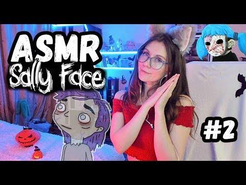 [ASMR] ШЕПОТ И УЖАСТИКИ - ПРИЗРАК И СЛАБИТЕЛЬНОЕ - Sally Face 1 Ep  #2