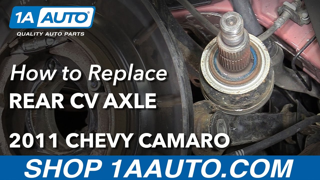 How to Replace Rear CV Axle 10-15 Chevy Camaro