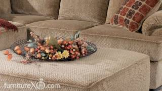 Bartlett - Caramel Sectional Living Room Set by Signature Design by Ashley Furniture.