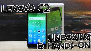 Lenovo C2 Unboxing & Hands On - First Boot