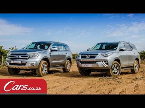 Toyota Fortuner vs Ford Everest: In-Depth Comparison & Review (2016)