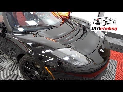 Tesla Roadster 150hours later - Suntek Ultra PPF, CQuartz Finest Reserve - OCDetailing®