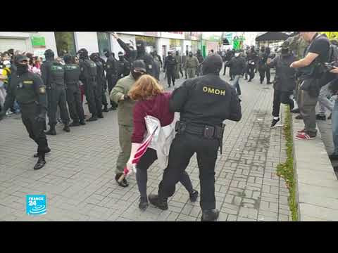 روسيا البيضاء: الشرطة تعتقل مئات النساء وتقتادهن إلى جهة غير معلومة بعد مظاهرة مناهضة للرئيس