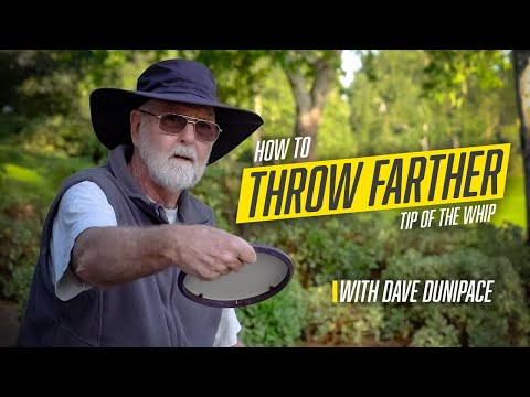 Tip of the Whip: How to Throw Farther
