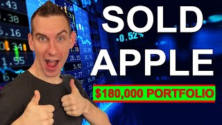 Sold Apple Stock | 180k Dividend Stock Portfolio For Passive Income