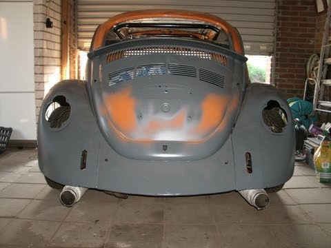 VW Bug testdrive WRX STI turbo engine vocho fusca project-subaru