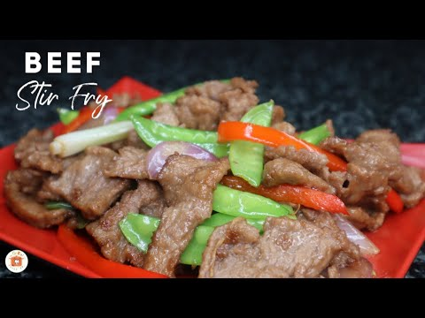 BEEF STIR FRY With Bell Pepper Recipe