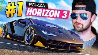 LOOK AT MY EPIC NEW CAR! - Forza Horizon 3 Gameplay #1