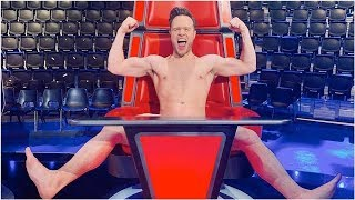 Olly Murs gets naked after his contestant Molly Hocking wins The Voice UK Video