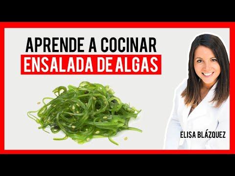 NUTRICIÓN. ENSALADA DE ALGAS. CLÍNICA MEDICINA INTEGRATIVA