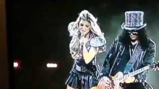 Video Slash Fergie Sweet Child Of Mine Black Eyed Peas Super Bowl Halftime Show 2011 download MP3, 3GP, MP4, WEBM, AVI, FLV November 2017