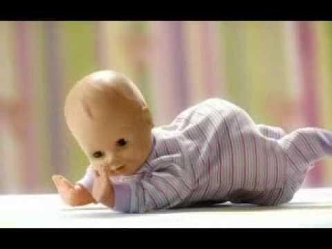 Baby Habibi Laugh Cry Drink Wet Crawling Baby بيبي حبيبي