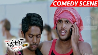 Sai Kumar Comedy With Customer Care Girls - Bus Stop Movie Scenes