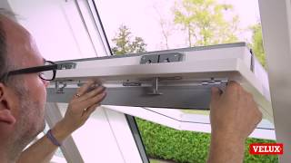 Download lagu VELUX roof window replacing air filter flap foam and lubricating pivot hinge and lock