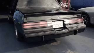 Buick grand National Black widow exhaust