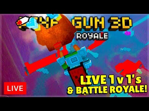 🔴Pixel Gun 3D | Ultimatum Has RETURNED! 1 V 1's LIVE & Battle Royale WINS!🔴
