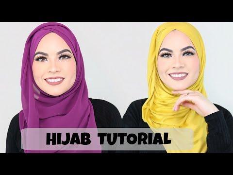 HIJAB TUTORIAL Everyday simple style thumbnail