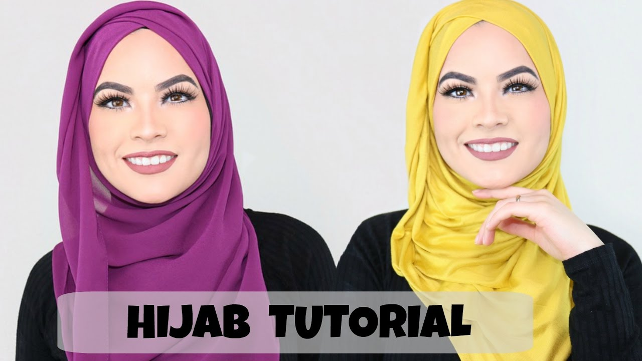 Hijab Tutorial Everyday Simple Style Youtube