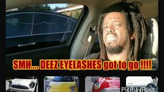 Cars wit eyelashes SHUcho asz up!!!!