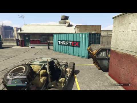 GTA Online Gunrunning - Mobile Operation #1 - Dune FAV (Severe Weather Patterns)