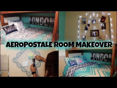 Aeropostale Room Makeover